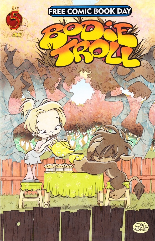 Couverture de Free Comic Book Day 2015 - Bodie Troll