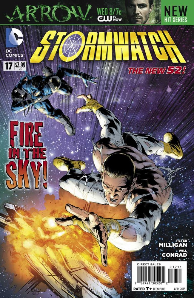 Couverture de Stormwatch (2011) -17- The Men Who Fell to Earth