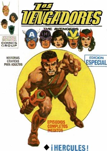 Couverture de Vengadores (Vol.1) (Los) -17- ¡Hércules!
