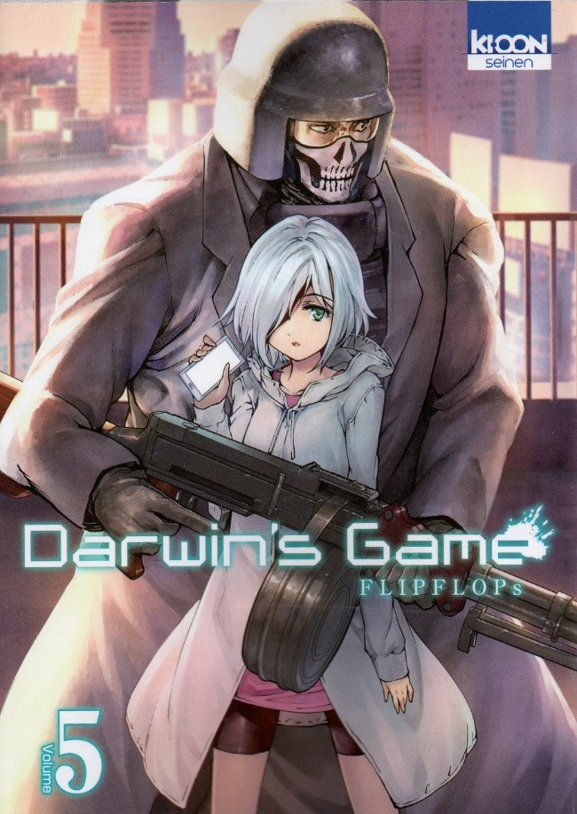Couverture de Darwin's Game -5- Tome 5