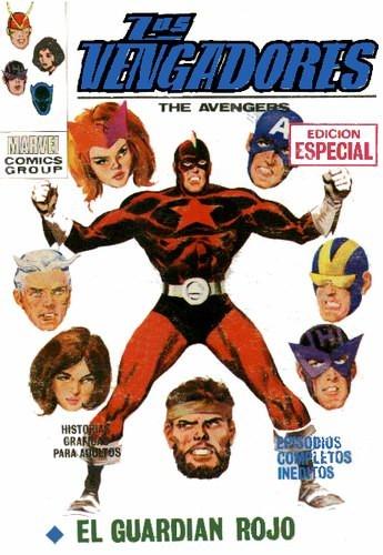 Couverture de Vengadores (Vol.1) (Los) -19- El Guardián Rojo