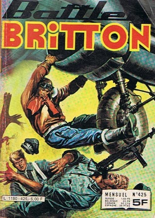 Couverture de Battler Britton -425- Intransigeance