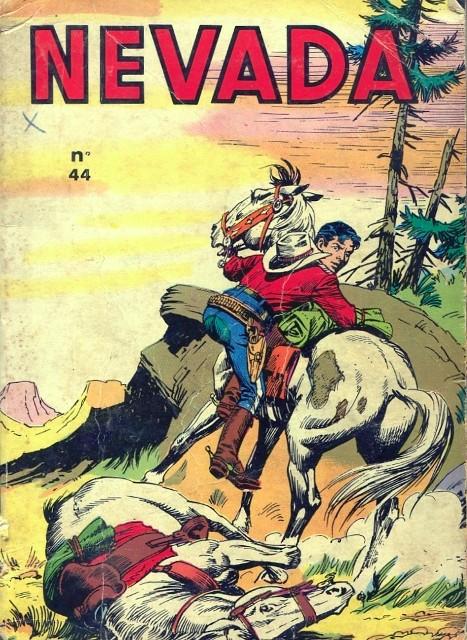 Couverture de Nevada (LUG) -Rec44- Album N°44 (du n°307 au n°310)