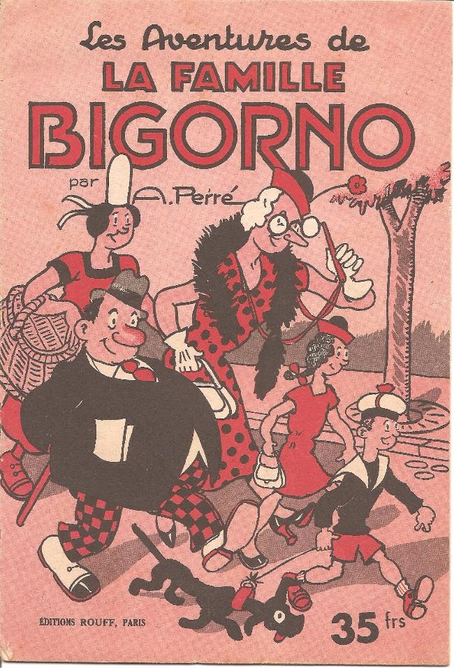 Couverture de La famille Bigorno -1- Les aventures de la famille Bigorno