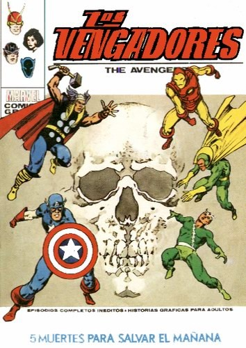Couverture de Vengadores (Vol.1) (Los) -47- 5 Muertes Para Salvar el Mañana