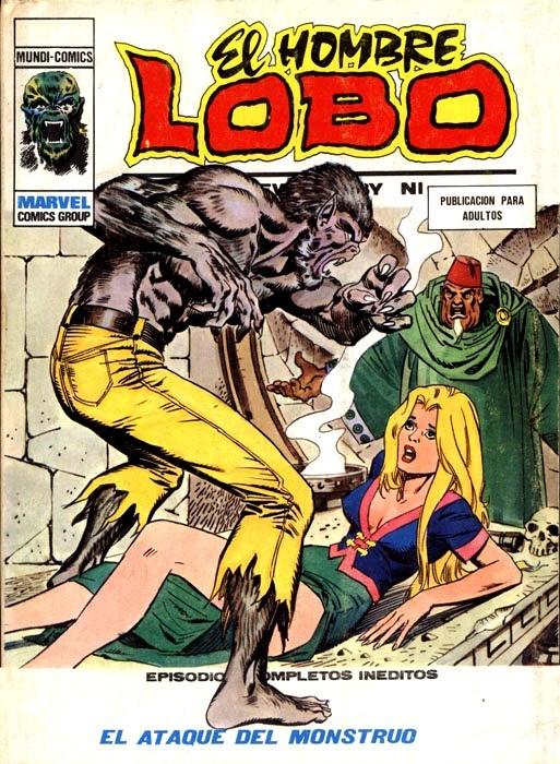 Couverture de Hombre Lobo (El) (Vol. 1) -9- El ataque del monstruo