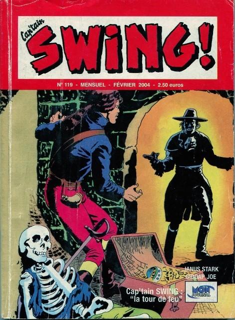 Couverture de Capt'ain Swing! (2e série - Mon Journal) -119- La tour de feu
