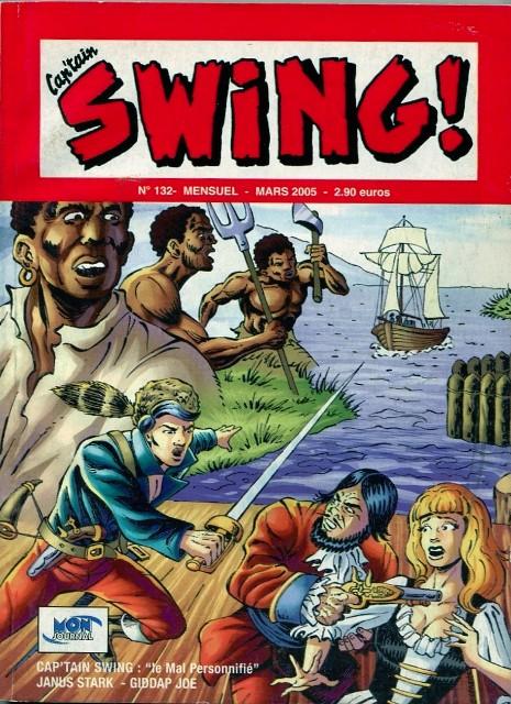 Couverture de Capt'ain Swing! (2e série - Mon Journal) -132- Le mal personnifié