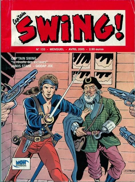 Couverture de Capt'ain Swing! (2e série - Mon Journal) -133- La révolte des esclaves