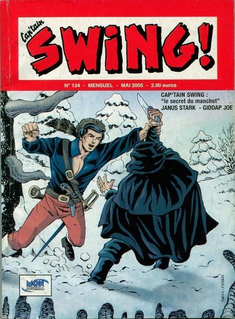Couverture de Capt'ain Swing! (2e série - Mon Journal) -134- Le secret du manchot