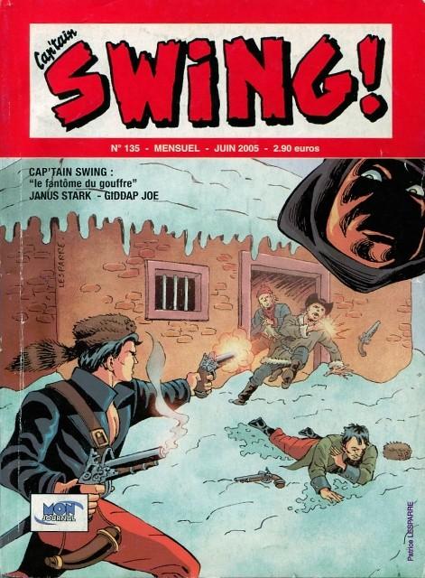 Couverture de Capt'ain Swing! (2e série - Mon Journal) -135- Le fantôme du gouffre