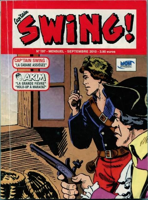 Couverture de Capt'ain Swing! (2e série - Mon Journal) -197- La cabane assiégée