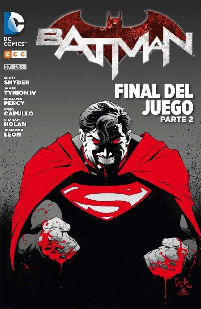 Couverture de Batman (en espagnol) -37- Final del Juego. Parte 2