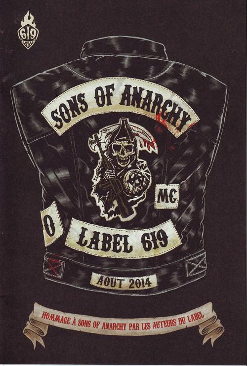 Couverture de Sons of Anarchy -HS- Hommage à sons of anarchy