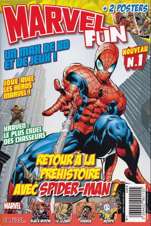 Couverture de Marvel Fun -1- Retour à la préhistoire