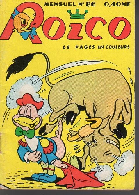 Couverture de Roico -86- Roico et le taureau gourmand