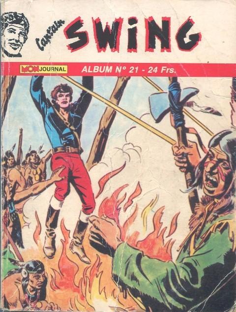 Couverture de Capt'ain Swing! (2e série - Mon Journal) -Rec21- Album N°21 (du n°61 au n°63)