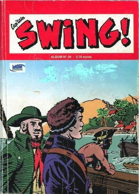 Couverture de Capt'ain Swing! (2e série - Mon Journal) -Rec29- Album N°29 (du n°85 au n°87)
