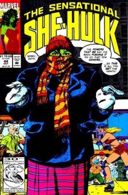 Couverture de Sensational She-Hulk (The) (1989) -44- Cognito