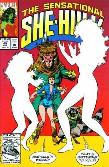 Couverture de Sensational She-Hulk (The) (1989) -45- Change of mine...