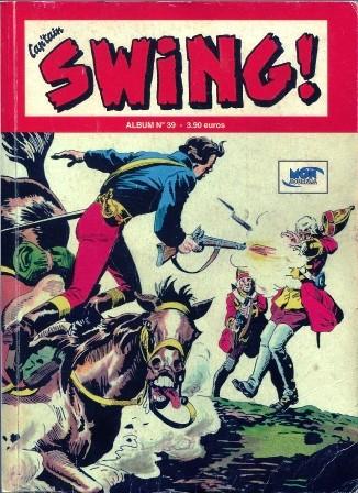 Couverture de Capt'ain Swing! (2e série - Mon Journal) -Rec39- Album N°39 (du n°115 au n°117)