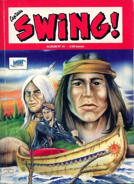 Couverture de Capt'ain Swing! (2e série - Mon Journal) -Rec41- Album N°41 (du n°121 au n°123)