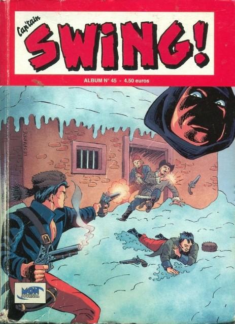 Couverture de Capt'ain Swing! (2e série - Mon Journal) -Rec45- Album N°45 (du n°134 au n°136)