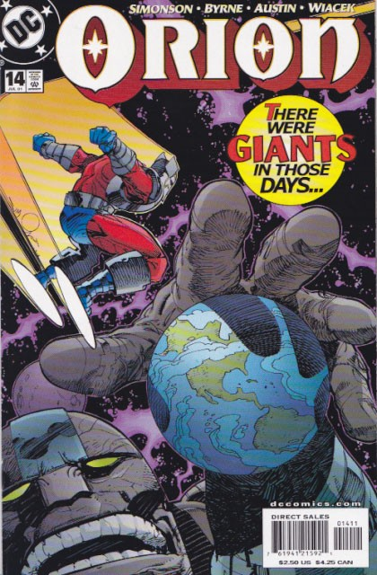 Couverture de Orion (Simonson, 2000) -14- The ordering of the cosmos