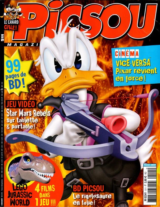 Couverture de Picsou Magazine -511- Picsou Magazine n° 511
