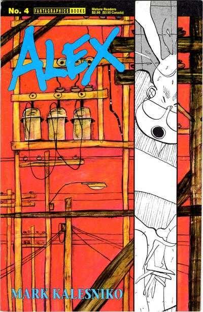 Couverture de Alex (1994) -4- Masturbation Papers