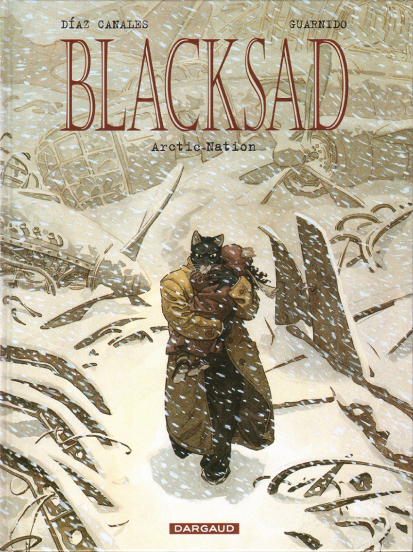 Couverture de Blacksad -2- Arctic-Nation
