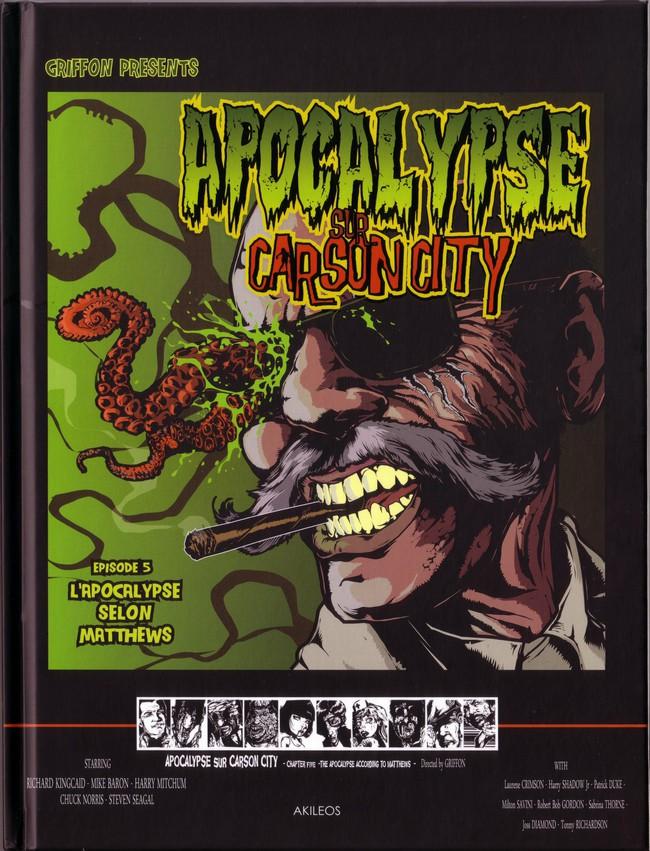 Couverture de Apocalypse sur Carson City -5- L'apocalypse selon Matthews