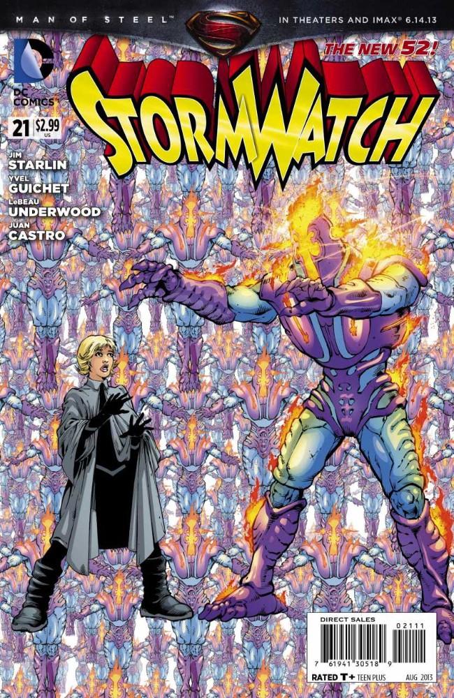 Couverture de Stormwatch (2011) -21- Trust