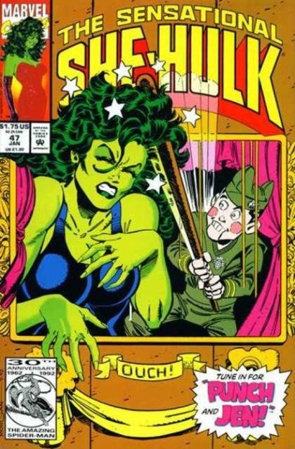 Couverture de Sensational She-Hulk (The) (1989) -47- Master puppet!
