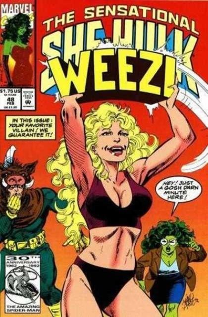 Couverture de Sensational She-Hulk (The) (1989) -48- Uh-oh