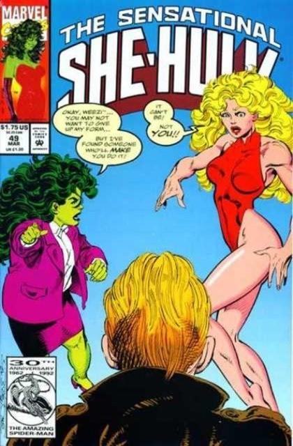 Couverture de Sensational She-Hulk (The) (1989) -49- Love conquers all