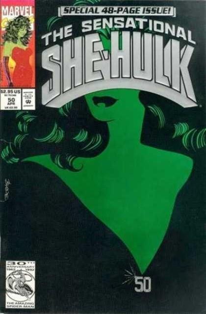 Couverture de Sensational She-Hulk (The) (1989) -50- He's dead?!