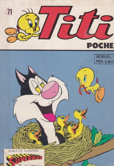 Couverture de Titi (Poche) -71- Ca te fait une belle jambe !