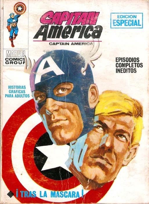 Couverture de Capitán América (Vol. 1) -6- ¡Tras la máscara!