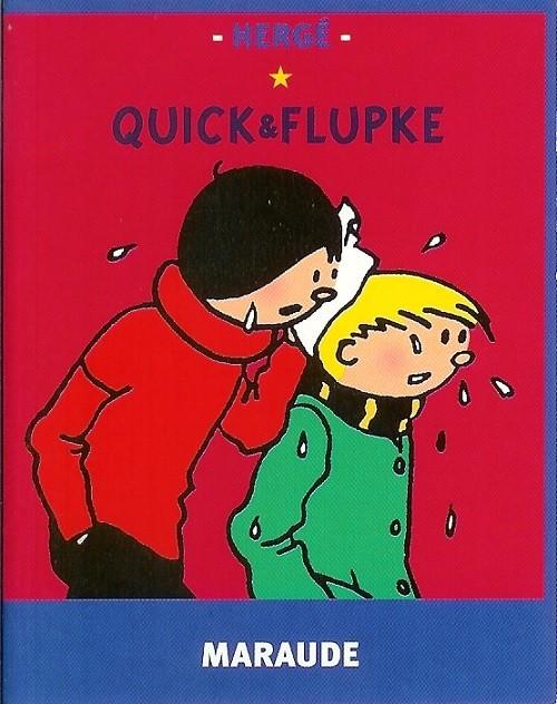 Couverture de Quick et Flupke -6- (Casterman, Mini-récits) - Maraude
