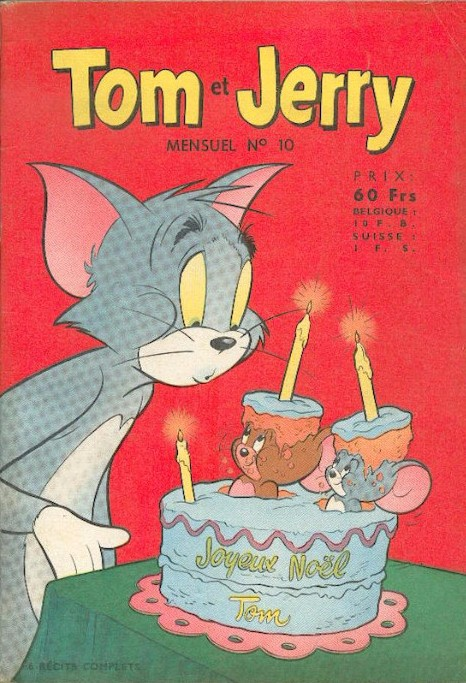 Couverture de Tom et Jerry (Puis Tom & Jerry) (2e Série - Sage) -10- Boule de neige, Boule de gomme...