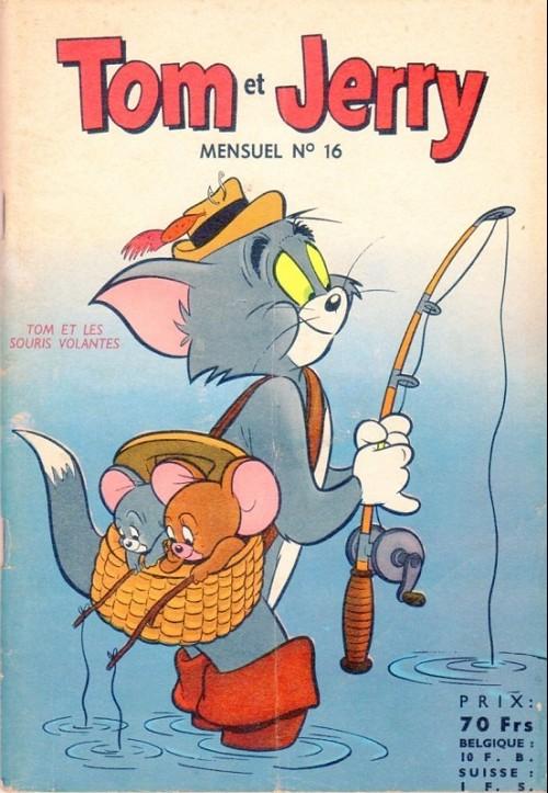 Couverture de Tom et Jerry (Puis Tom & Jerry) (2e Série - Sage) -16- Tom et les souris volantes