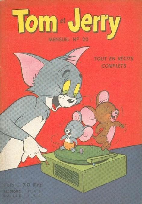 Couverture de Tom et Jerry (Puis Tom & Jerry) (2e Série - Sage) -20- Pêcher à tout prix !