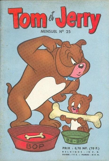 Couverture de Tom et Jerry (Puis Tom & Jerry) (2e Série - Sage) -25- Les aventures de Tom