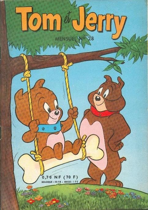 Couverture de Tom et Jerry (Puis Tom & Jerry) (2e Série - Sage) -28- L'ami martien