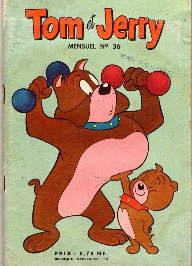 Couverture de Tom et Jerry (Puis Tom & Jerry) (2e Série - Sage) -36- Souris rôties en gelée !