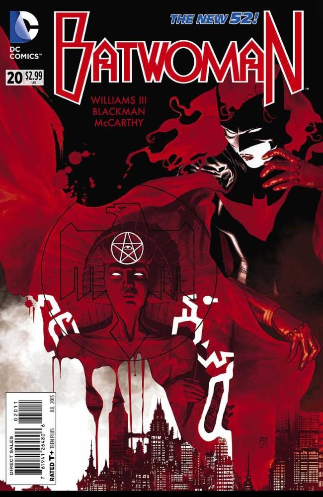 Couverture de Batwoman (2011) -20- This food is Thick: Cells