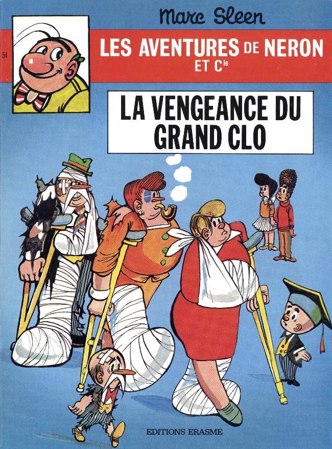 Couverture de Néron et Cie (Les Aventures de) (Érasme) -54- La vengeance du grand Clo