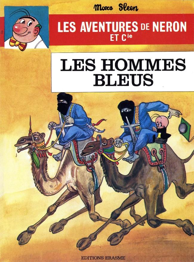 Couverture de Néron et Cie (Les Aventures de) (Érasme) -17- Les hommes bleus