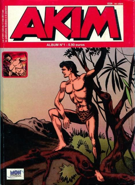 Couverture de Akim (3e série) -Rec01- Album N°1 (du n°2 au n°3)